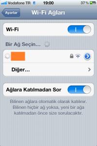 iPhone DNS Değiştirme 1.Adım
